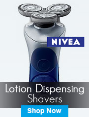 Lotion Dispensing Shavers