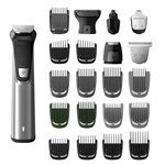 Philips Norelco - Multigroom 9000 Trimmer with 13 Guide Combs - Black MG7770/49
