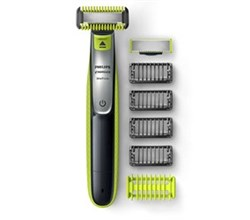 Norelco Mens Trimmers norelco oneblade face + body hybrid electric trimmer and shaver qp2630/70